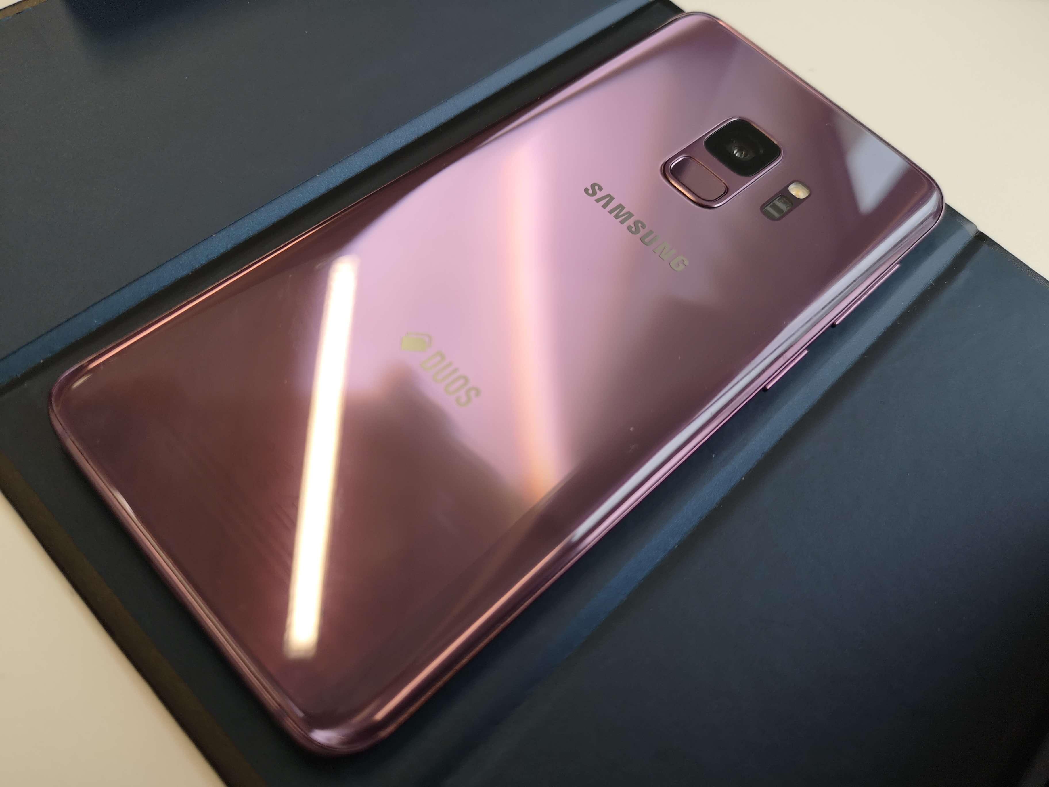 Test du Samsung Galaxy S9