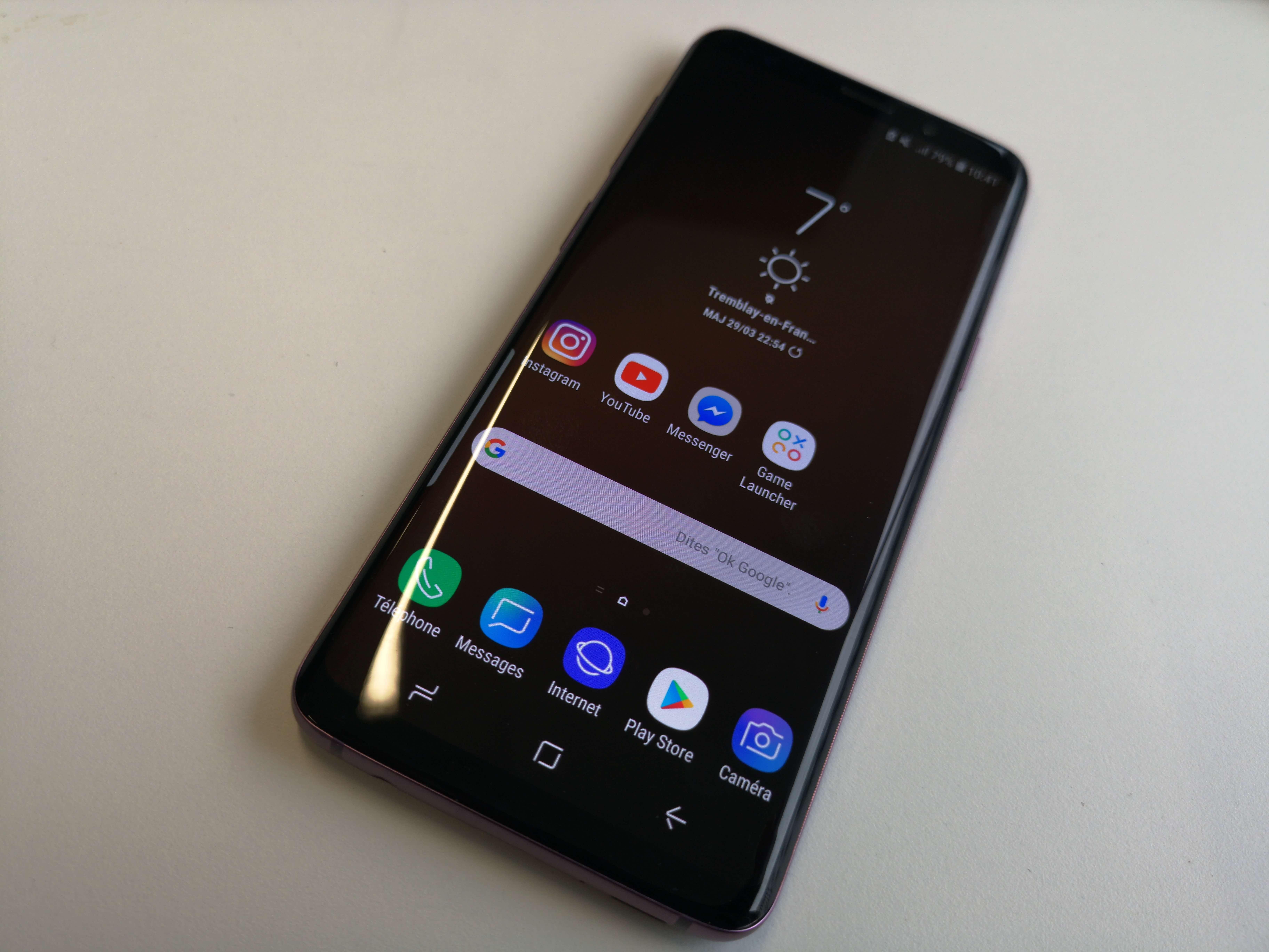 Samsung Galaxy S9 test 8 - [ TEST ] Samsung Galaxy S9 : le jeu des 7 différences avec le S8