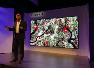 TV MicroLed The Wall de Samsung