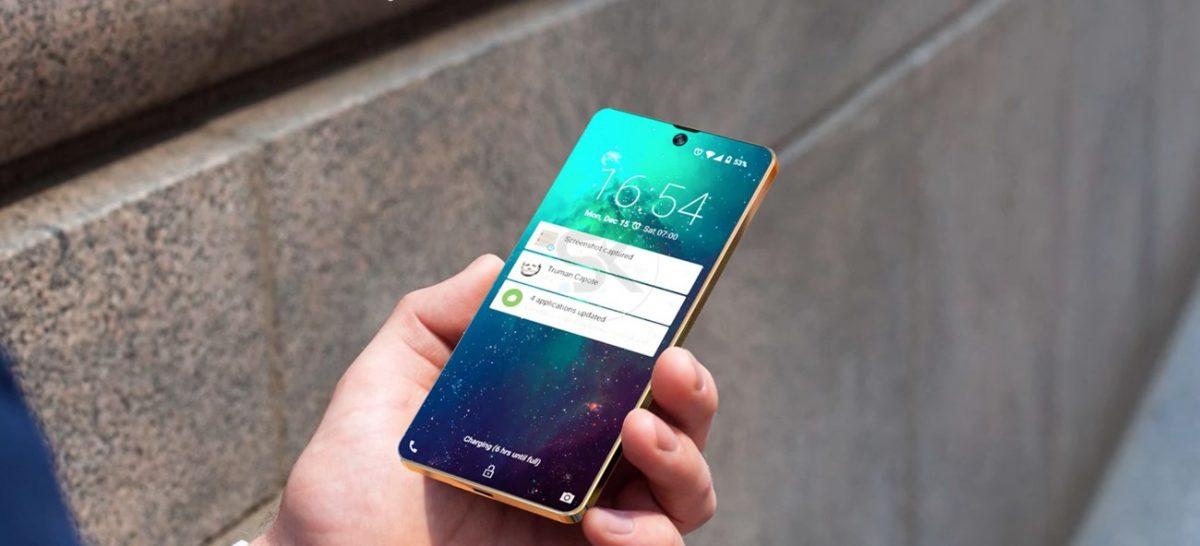 Le Samsung Galaxy Zero se voit offrir un concept borderless