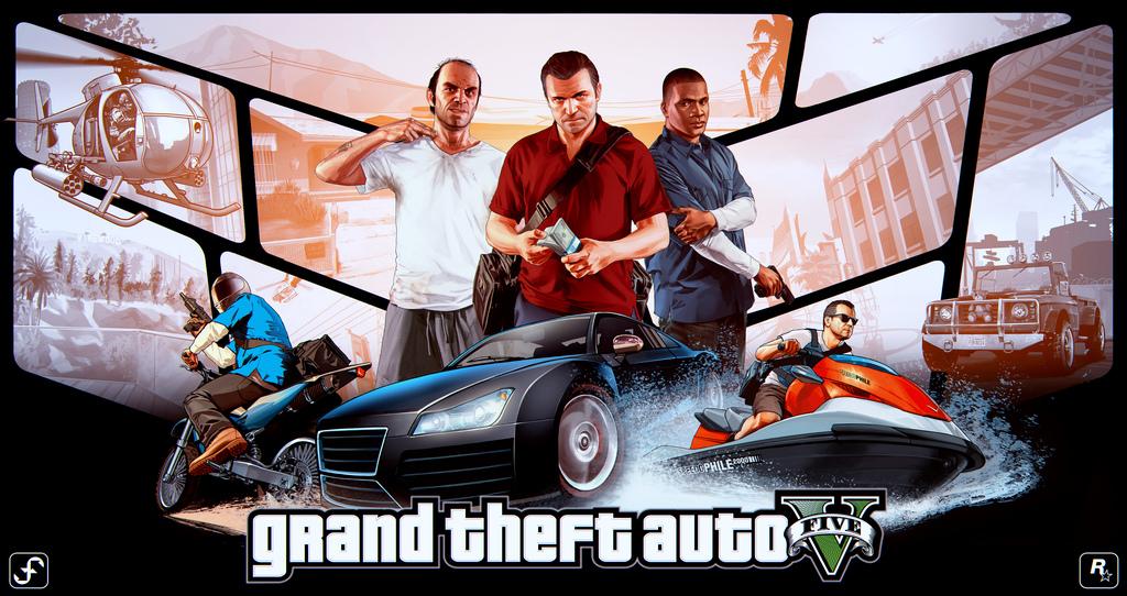 GTA V Premium Edition se dévoile officiellement avec sa pochette