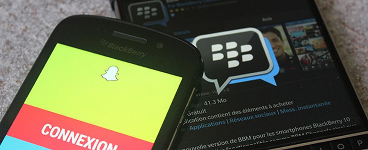 Après Facebook, Blackberry attaque Snapchat en justice pour violation de brevets