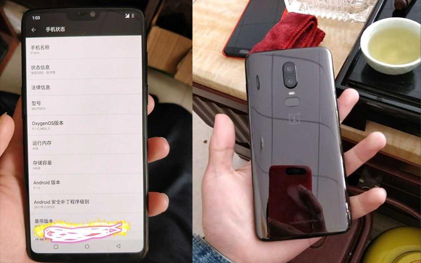 oneplus 62 - Pratiquement pas de bords autour de l'écran du OnePlus 6