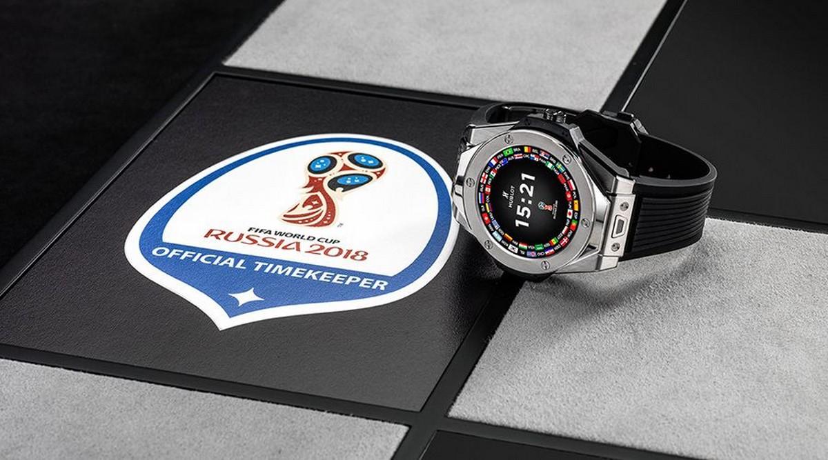 Hublot : une montre connectée à 4 500 € pour les arbitres de la Coupe du monde
