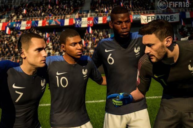 La France sur toit du monde et c'est FIFA 18 qui le dit !