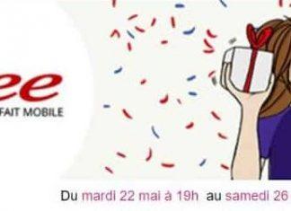 Nouvelle promo Vente Privée sur un forfait Free Mobile