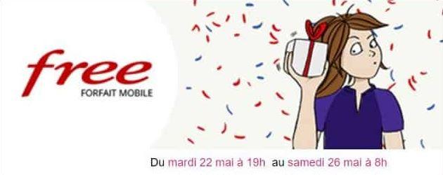 Vente Privée : Free Mobile lance un nouveau forfait en promo ce mardi !