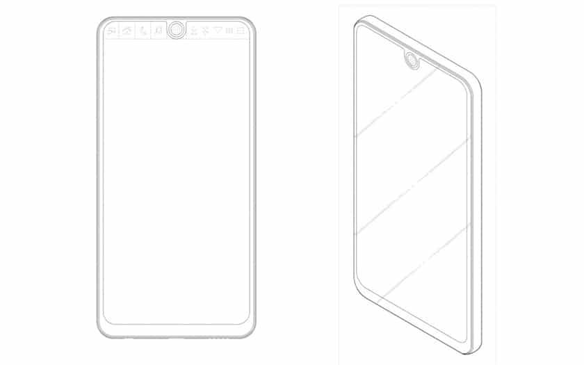 Un brevet de LG pour un smartphone à encoche