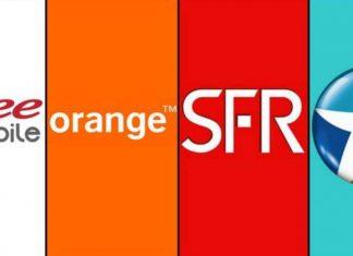 Free, Orange, SFR et Bouygues Telecom