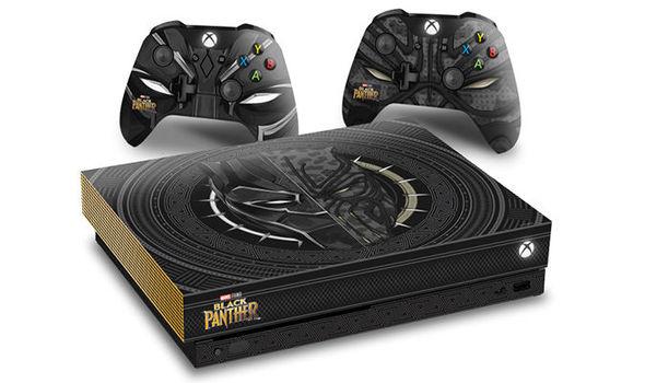 Des Xbox One X édition Black Panther font l'objet d'un jeu concours