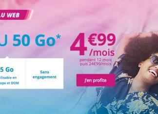 Bouygues Telecom lance aussi une offre mobile à 4,99 €/mois
