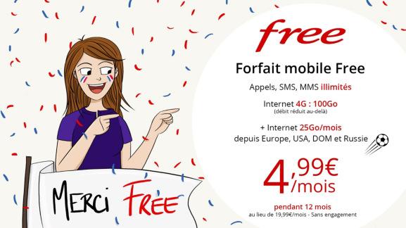 Forfait FreeMobile en promotion