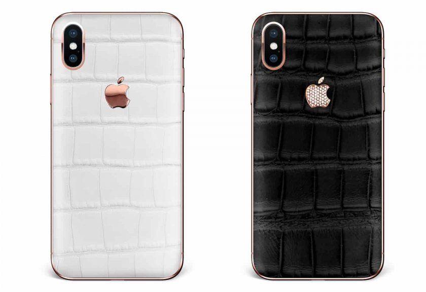 Un iPhone X en peau d'alligator à 9000 euros ça vous dit ?