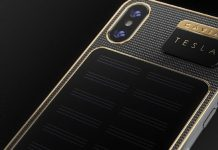 iPhone X Tesla Caviar