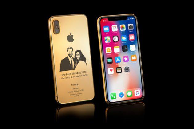 wedding1 630x420 - Un iPhone X en or pour le mariage royal anglais