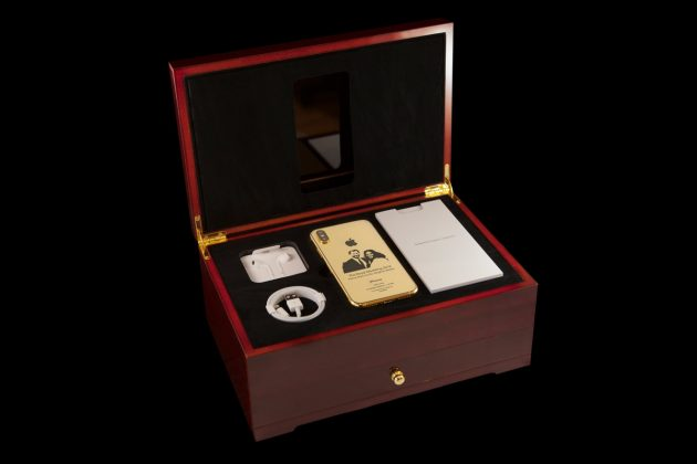 wedding2 1 630x420 - Un iPhone X en or pour le mariage royal anglais