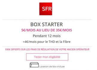 Box Starter SFR Showroomprive