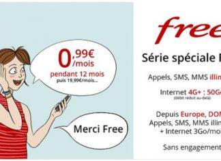Forfait Free Mobile 50 Go Vente Privee