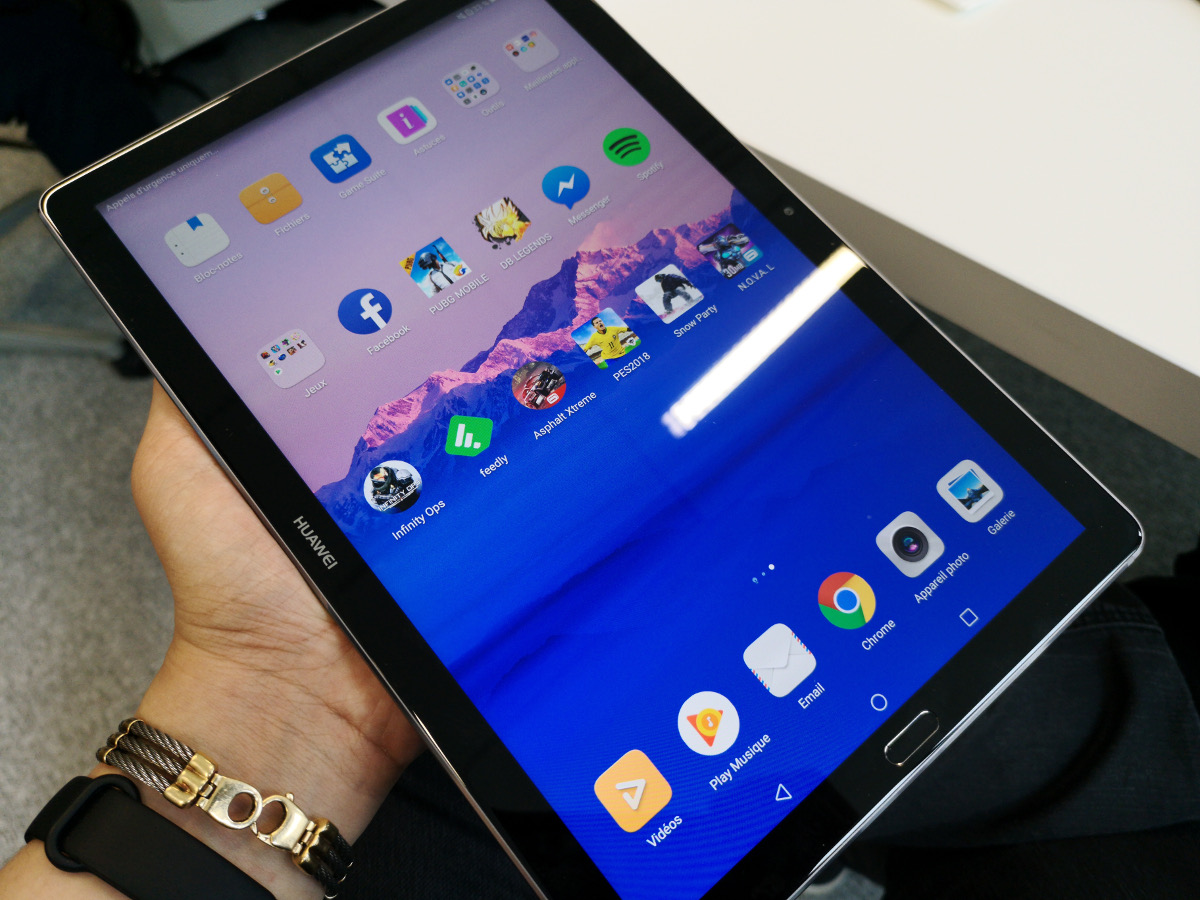 [ TEST ] Huawei MediaPad M5 : l'une des rares tablettes à avoir de l'avenir
