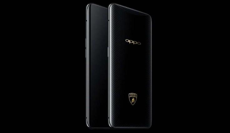Oppo Find X édition Lamborghini