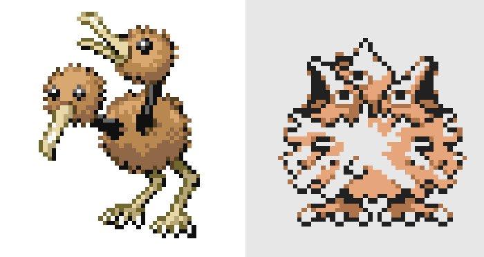 Pokemon Or beta Doduo - De nouveaux Pokémon apparaissent dans une ancienne beta de Pokémon Or