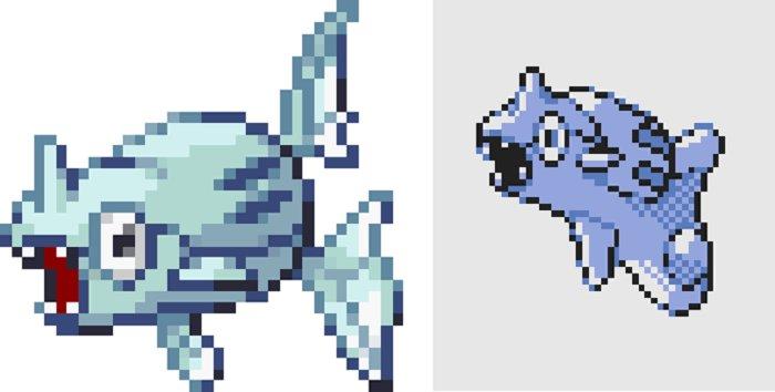 Pokemon Or beta Remoraid - De nouveaux Pokémon apparaissent dans une ancienne beta de Pokémon Or