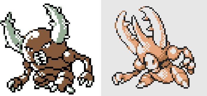 Pokemon Or beta Scarabrute - De nouveaux Pokémon apparaissent dans une ancienne beta de Pokémon Or