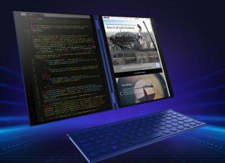 Asus dévoile un prototype de PC portable à deux écrans