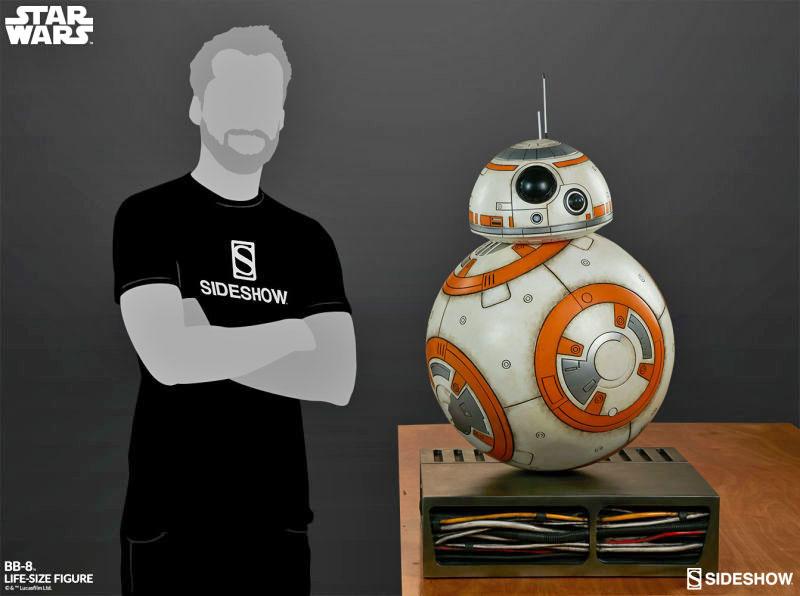 Star Wars - Le réveil de la force : un BB-8 en grandeur nature