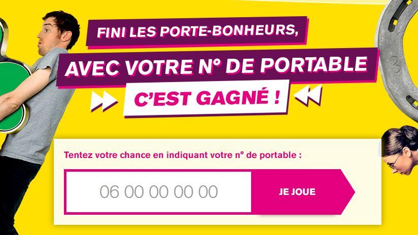 Concours 100% gagnant : remportez jusqu'à 10 ans de forfait avec La Poste Mobile !