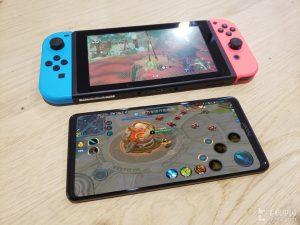 Honor Note 10 5 1 300x225 - Le Honor Note 10 prend la pose à côté de la Nintendo Switch