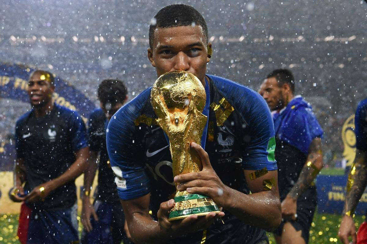 Kylian Mbappé, star de la Coupe du monde 2018 et de Google