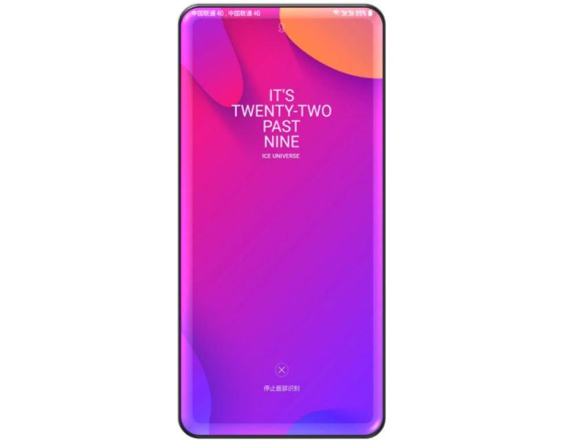Pas d'encoche sur le smartphone rêvé de Samsung d'après Ice Universe !