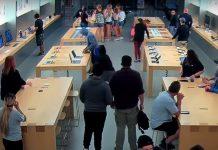 Nouveau casse dans un Apple Store