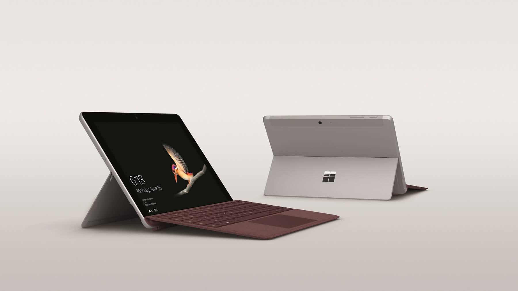 Surface Go : la contre-attaque de Microsoft face à l'iPad d'Apple