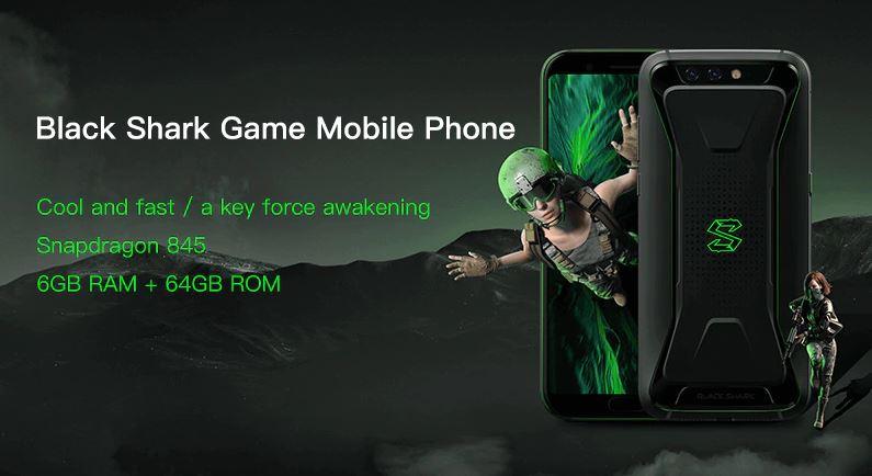 Soldes d'été 2018 : le Xiaomi Black Shark est à 402 euros sur GearBest