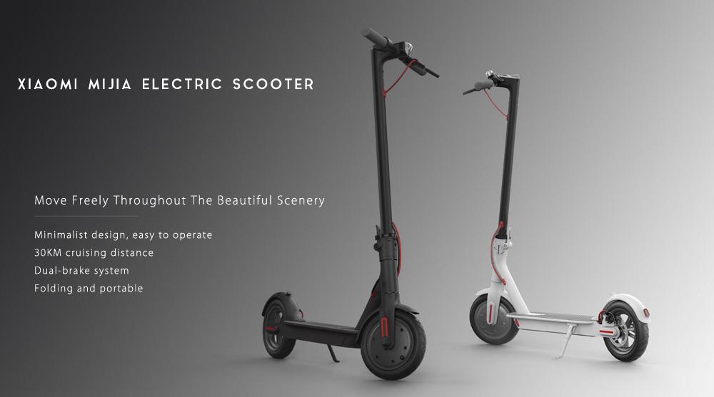 [Bon plan] le scooter électrique Xiaomi M365 à prix réduit sur GearBest