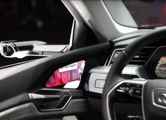 Audi remplace les rétroviseurs par des écrans tactiles