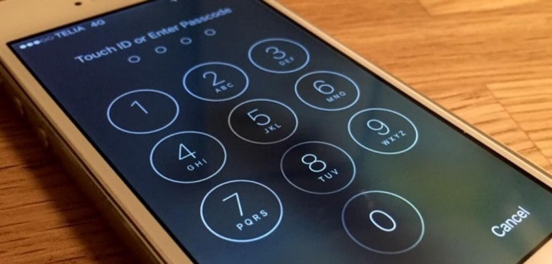 Un homme en prison pour avoir refusé de déverrouiller son smartphone