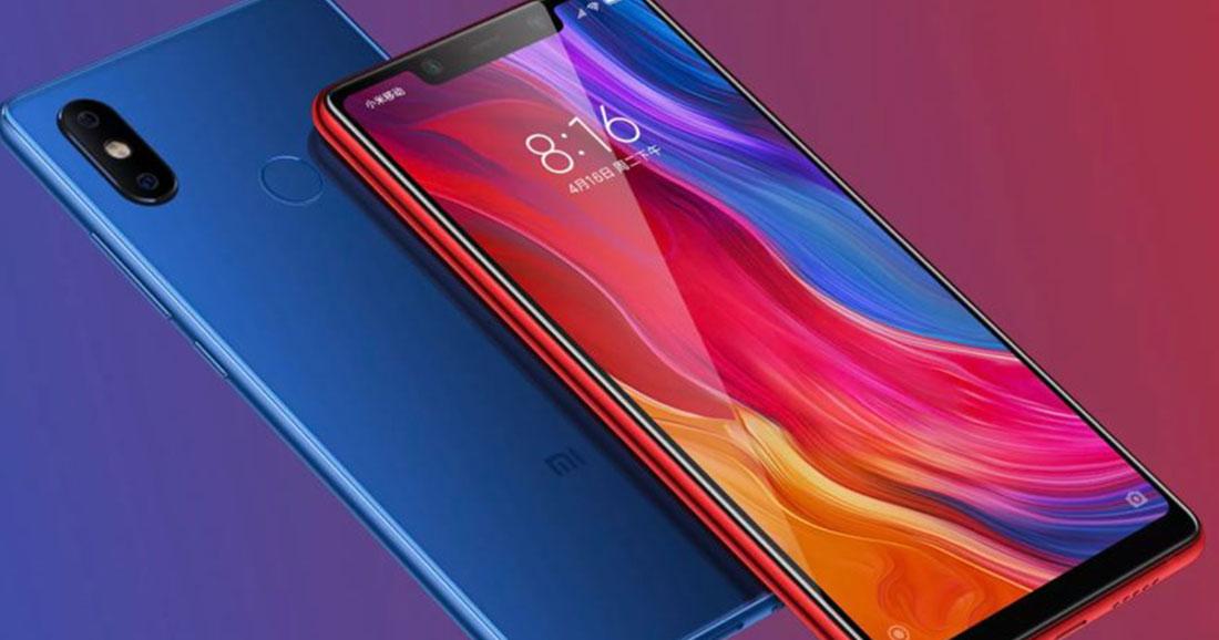 [Vente flash] Les smartphones Xiaomi Mi 8 à prix réduit sur GearBest