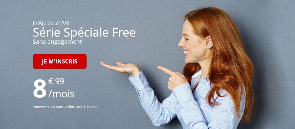 Le forfait Free Mobile 50 Go à 8.99 euros est toujours disponible !