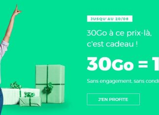 Forfait RED 30 Go