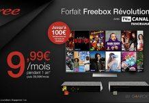 Freebox Revolution TV by Canal en promo sur Vente Privée