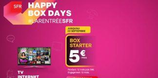 Les Happy Box Days de SFR