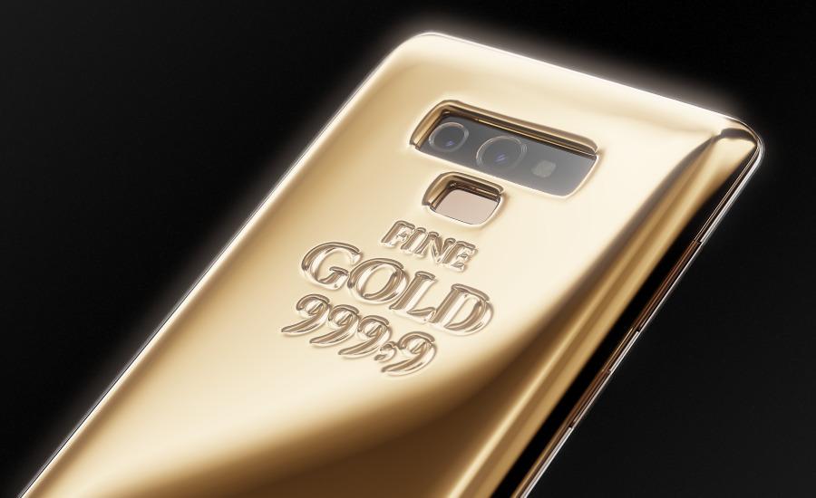 Samsung Galaxy Note 9 Fine Gold Edition