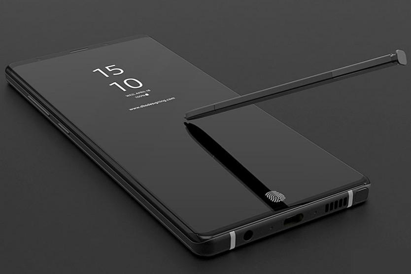 Un concept du Samsung Galaxy Note 9