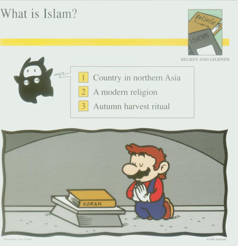 Un produit nous révèle la probable religion de Mario