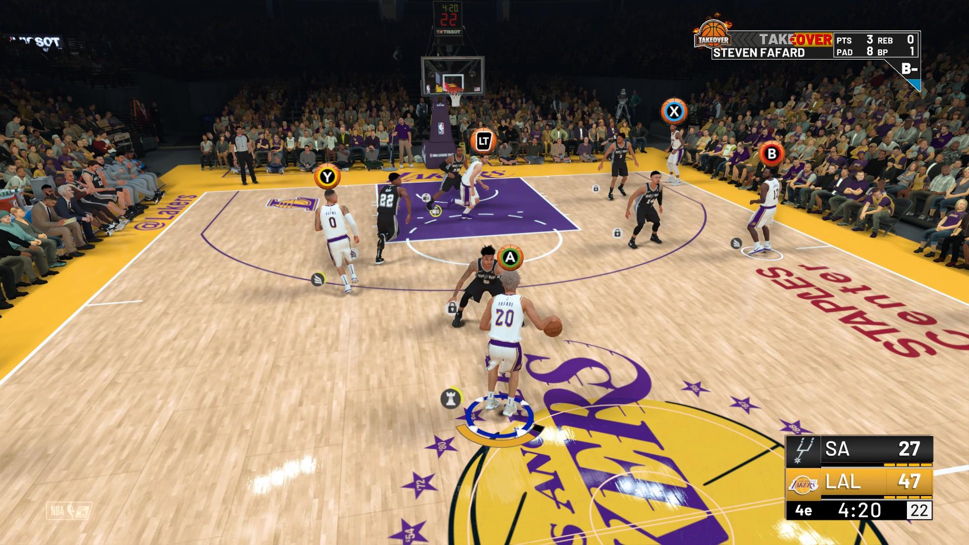 20180916134405 1 - [ TEST ] NBA 2K19 (PC, PS4, Xbox One, Switch) : encore une référence