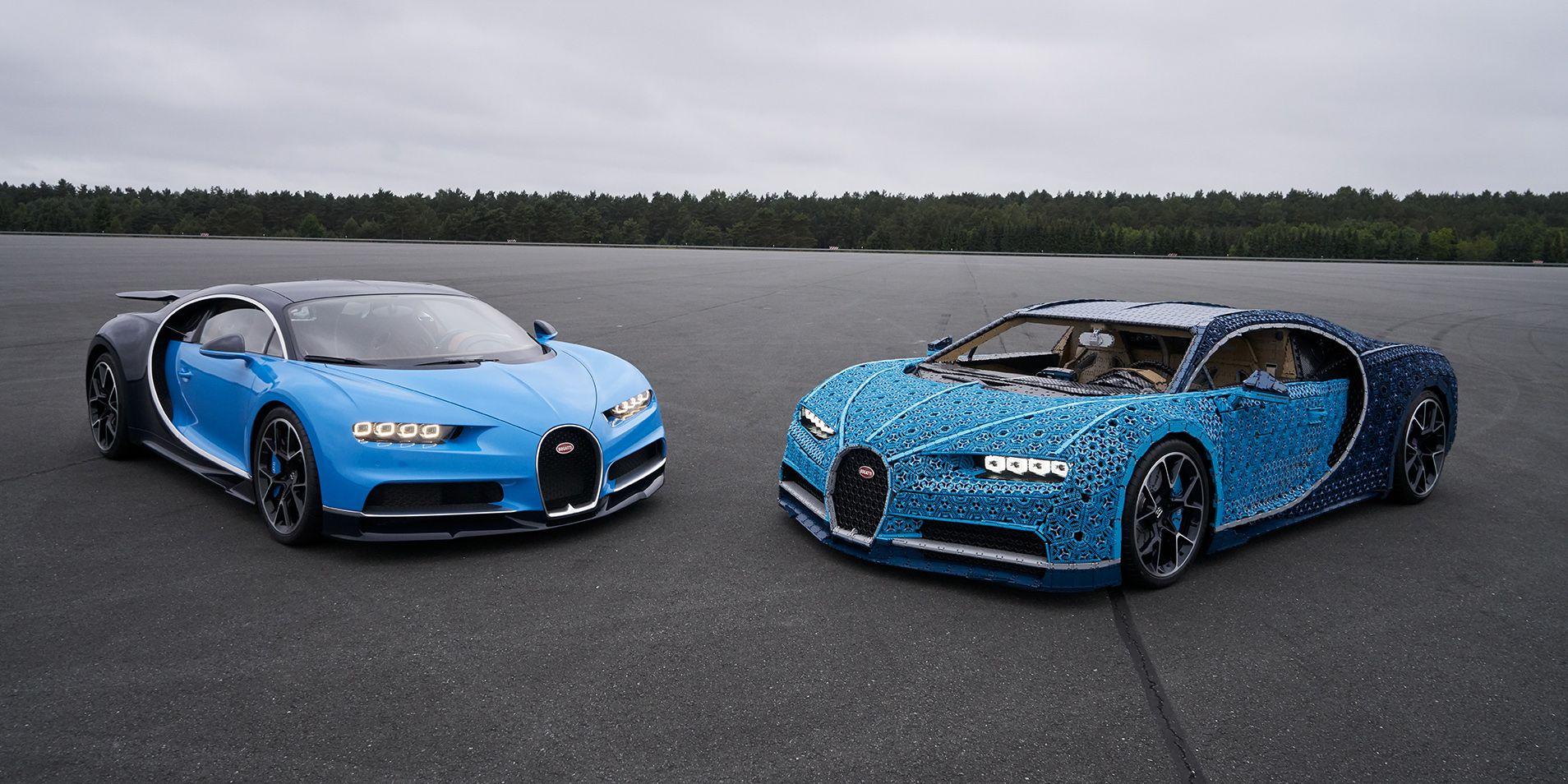 Lego Une Bugatti Chiron Realisee En Taille Reelle Ere Numerique
