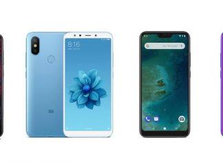 Nokia X6, Xiaomi Mi A2, Mi A2 Lite et Honor 10